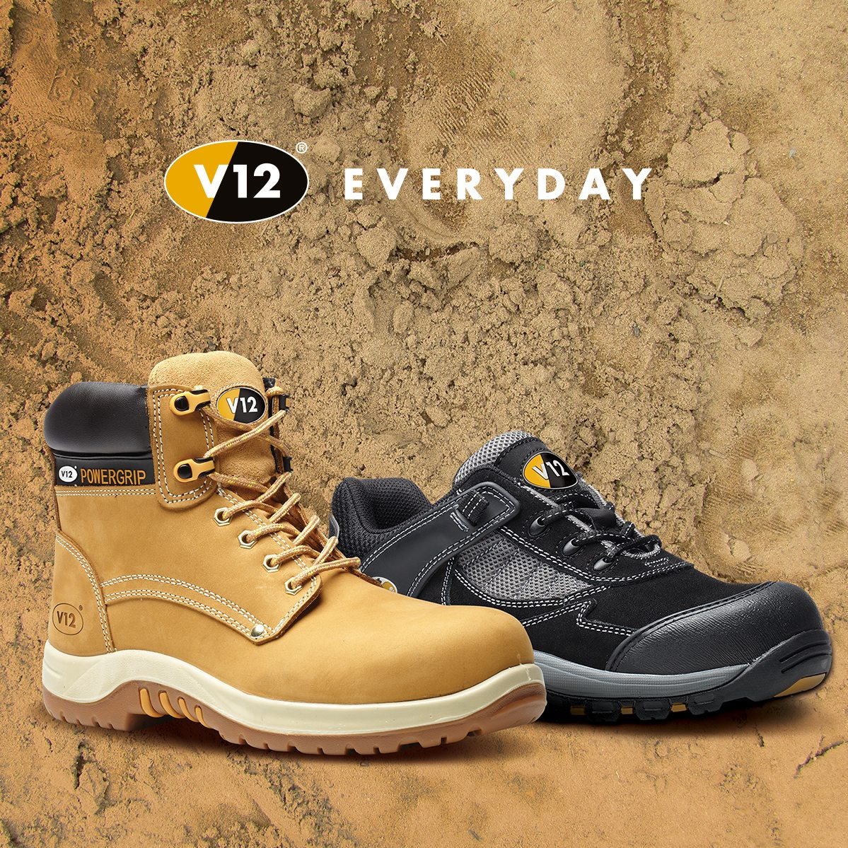 V12 Footwear Everyday Range