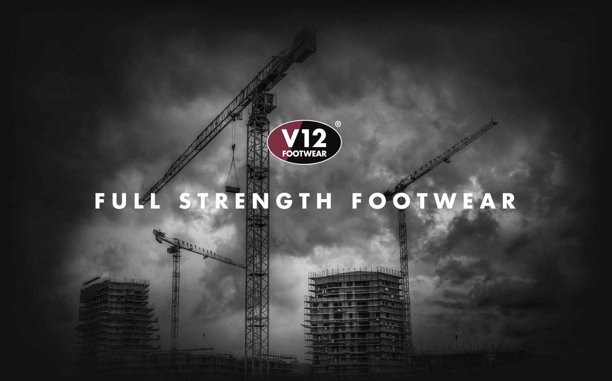 V12 Footwear Logo Branding