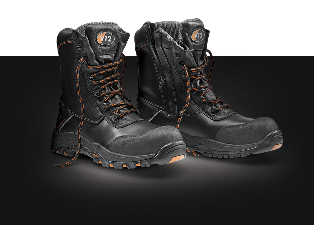 V12 Footwear Safety Boots Product Photography Defiant