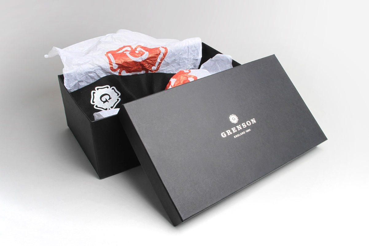 Grenson Packaging Branding design