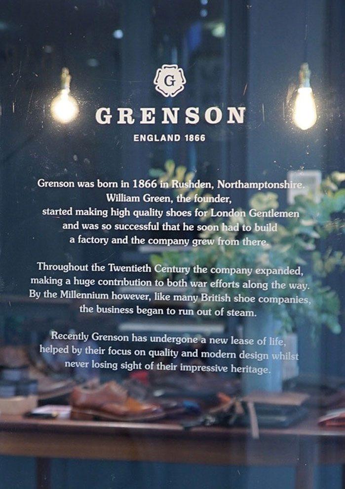 Grenson In Store Jermyn Street Store