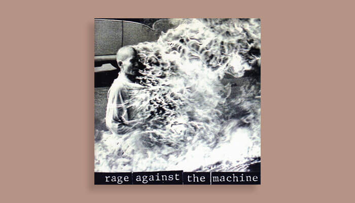 rage against the machine self titled album