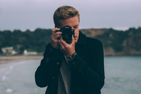 mr porter camera selfie
