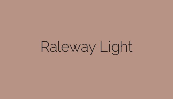 railway light typeface