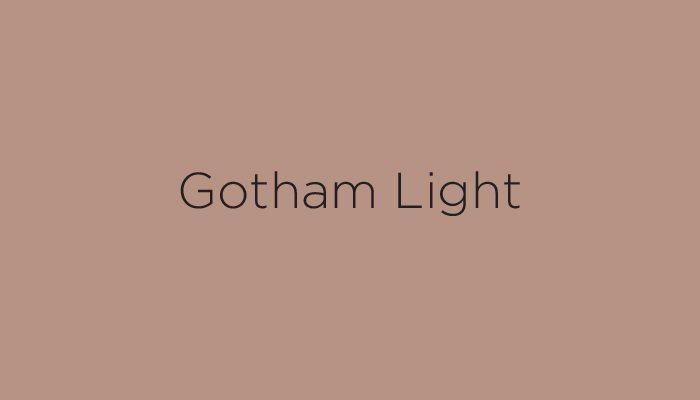 gotham light typeface