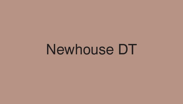 newhouse dt typeface